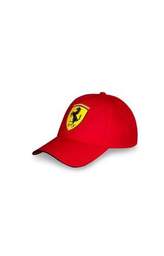 Ferrari Ferrari FW Scudetto Carbon Cap Rood