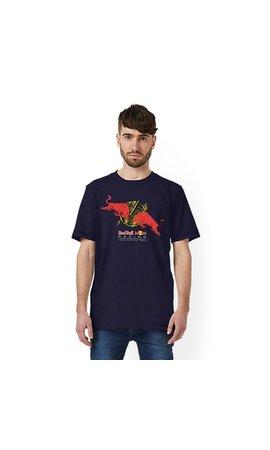 PUMA Red Bull Racing Double Bull Tee Blauw 2019