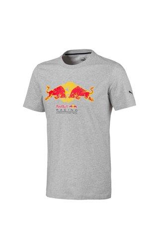 PUMA RBR Double Bull T-shirt Grijs Puma 2019