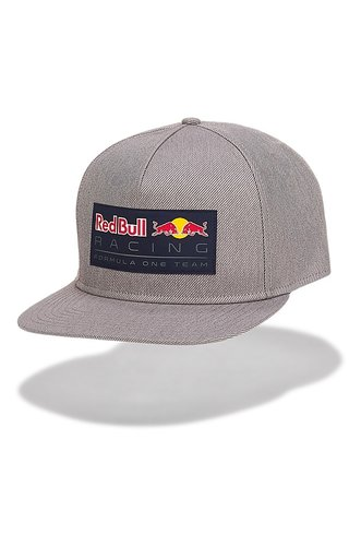 PUMA Red Bull Racing Race Flat Cap grijs