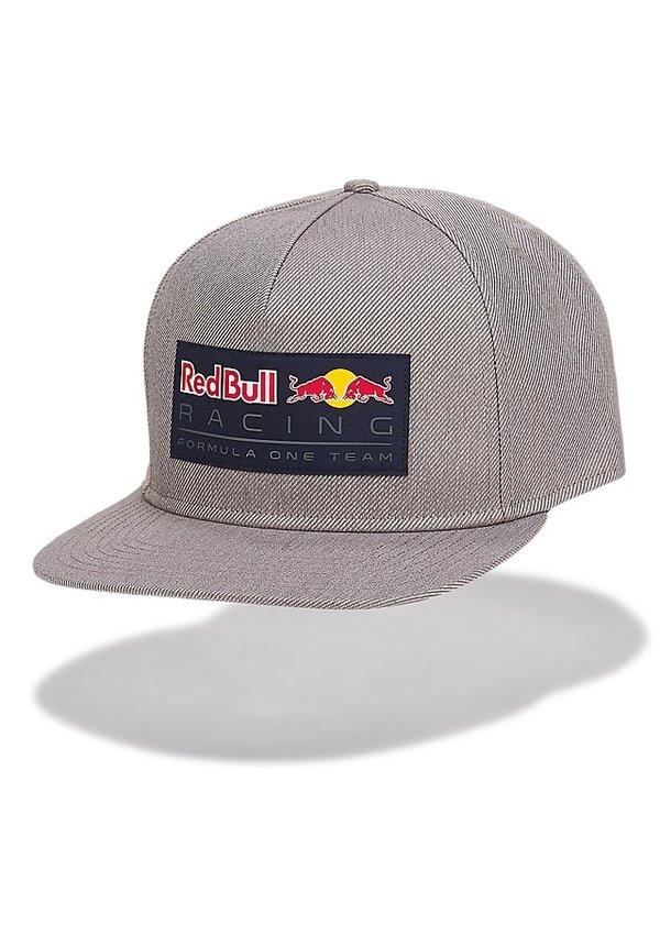 Red Bull Racing Race Flat Cap grey