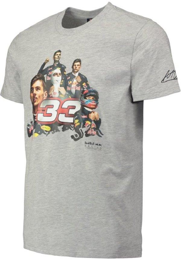 Max Verstappen T-shirt 33 grey