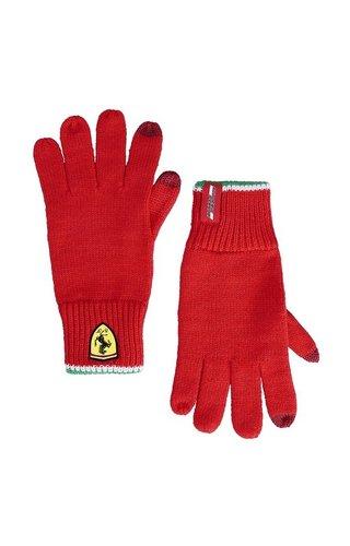 Ferrari Ferrari Knitted Touch Gloves Red