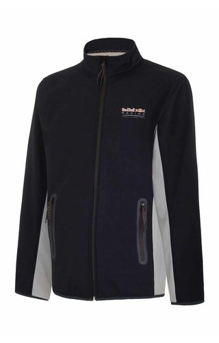 RED BULL RACING MENS SOFT SHELL BONDED FLEECE BLAUW