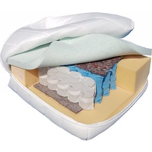 Pocketvering matras met Gel-Visco traagschuim - Matras op maat