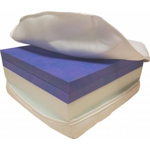 Koudschuim matras HR 45 met traagschuim zijde - Matras op maat