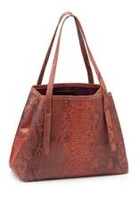 Mini Tote Bag Brown/Orange