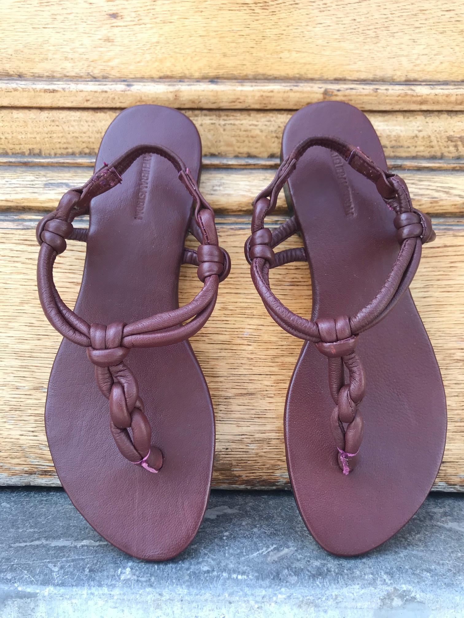 ATELIERAMSTRDM Knot Sandal 38