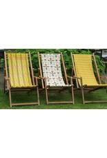 Guinevere Houten Vintage Strandstoel met Armleuningen