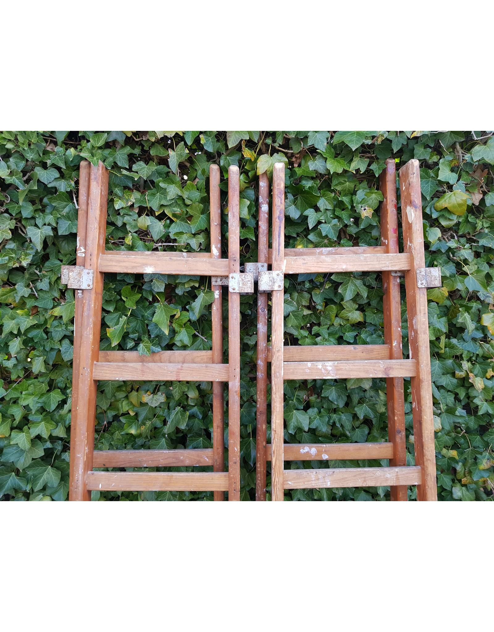Houten ladder trap