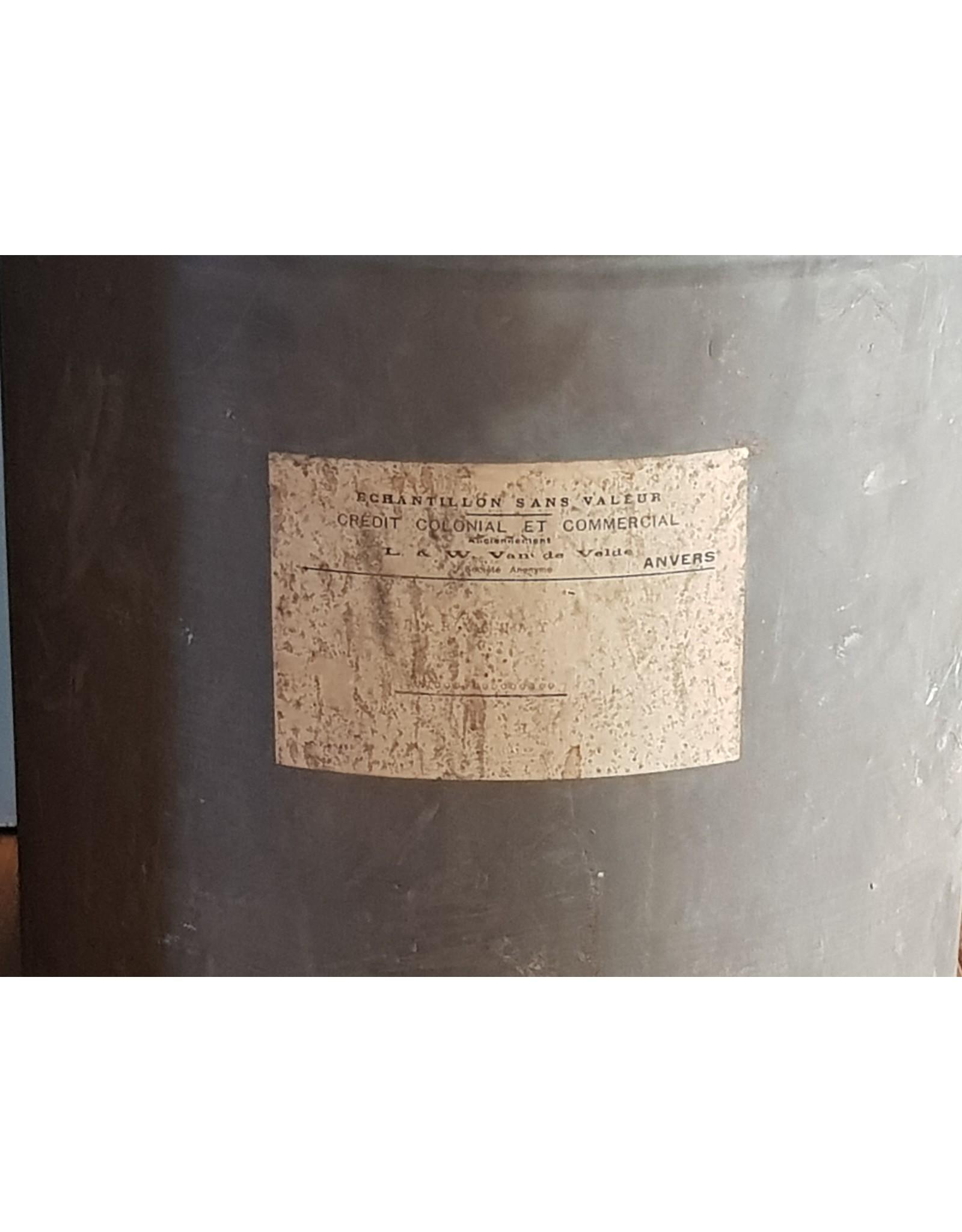 Doos katoenfabriek 1929