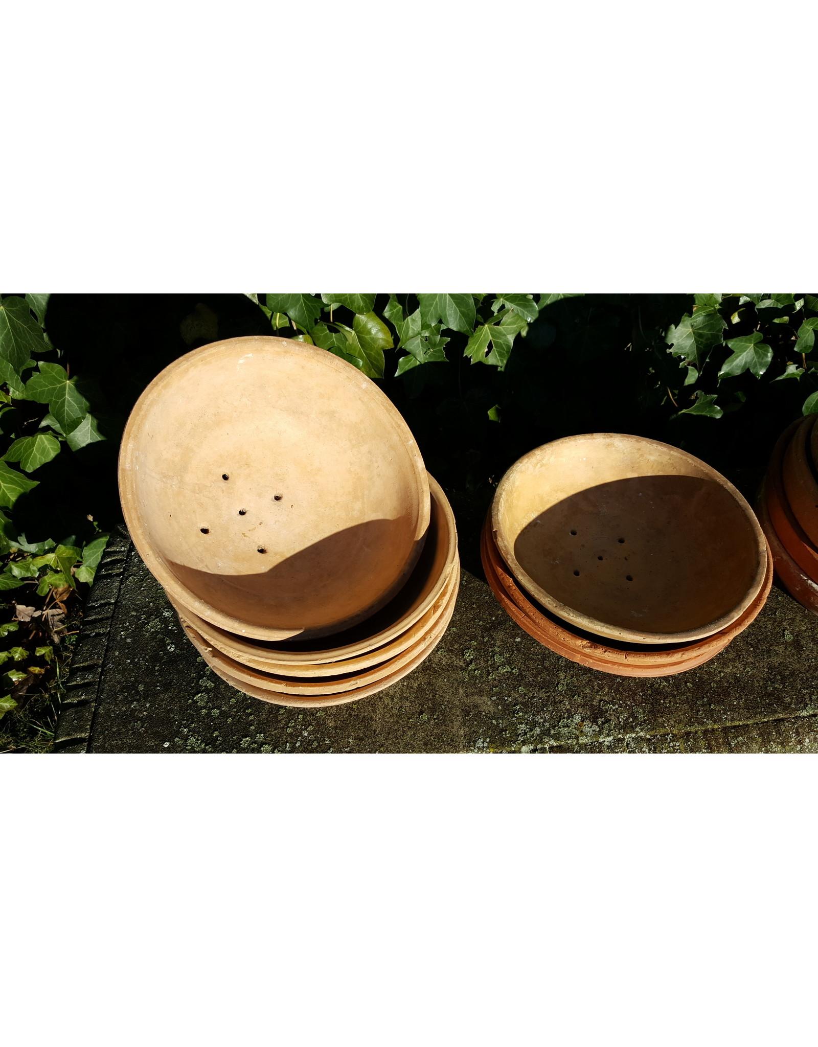 Brocante aardewerken duivenschaal, broedschaal