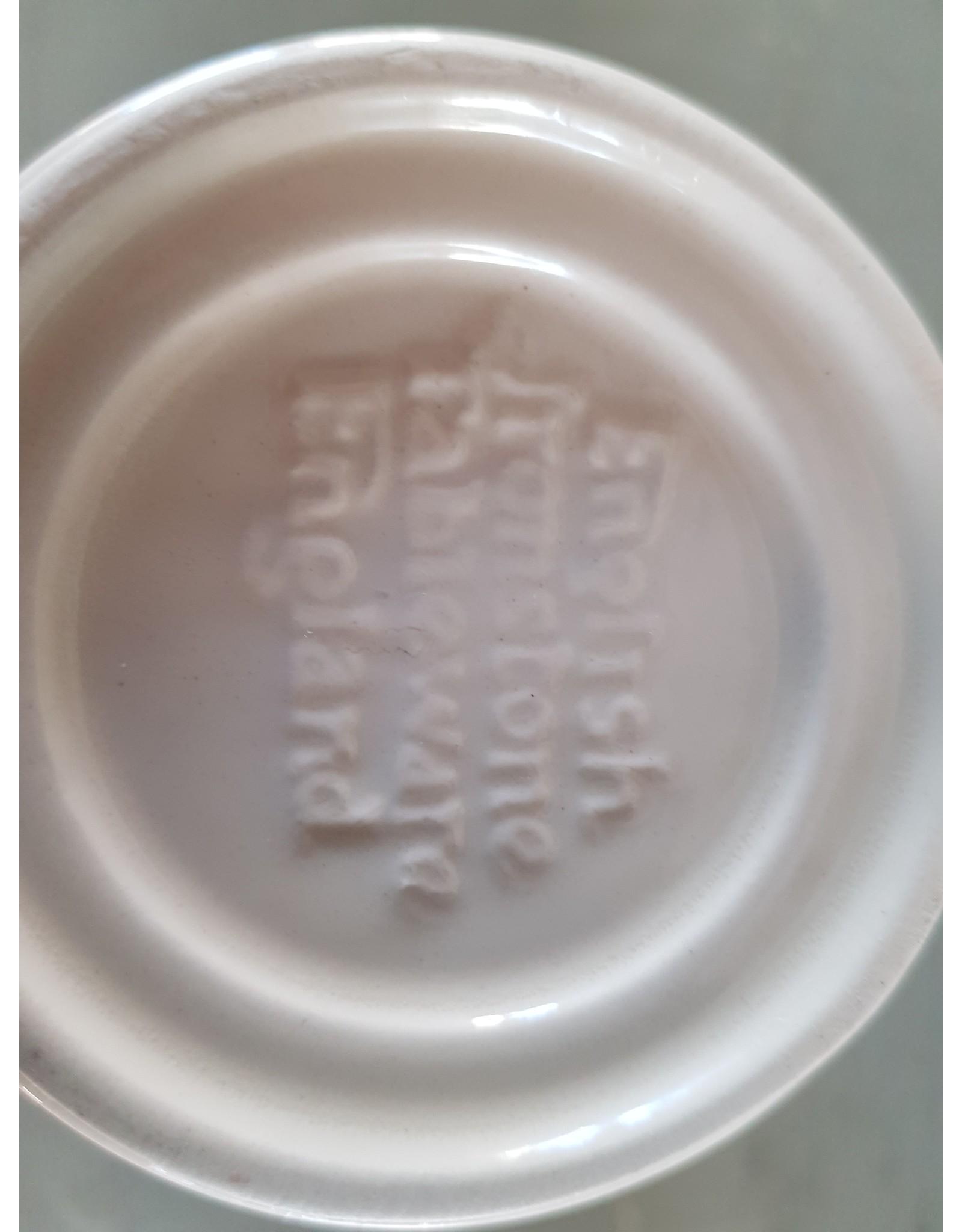 Ironstone English Tableware Mosterdpot Engels gemerkt