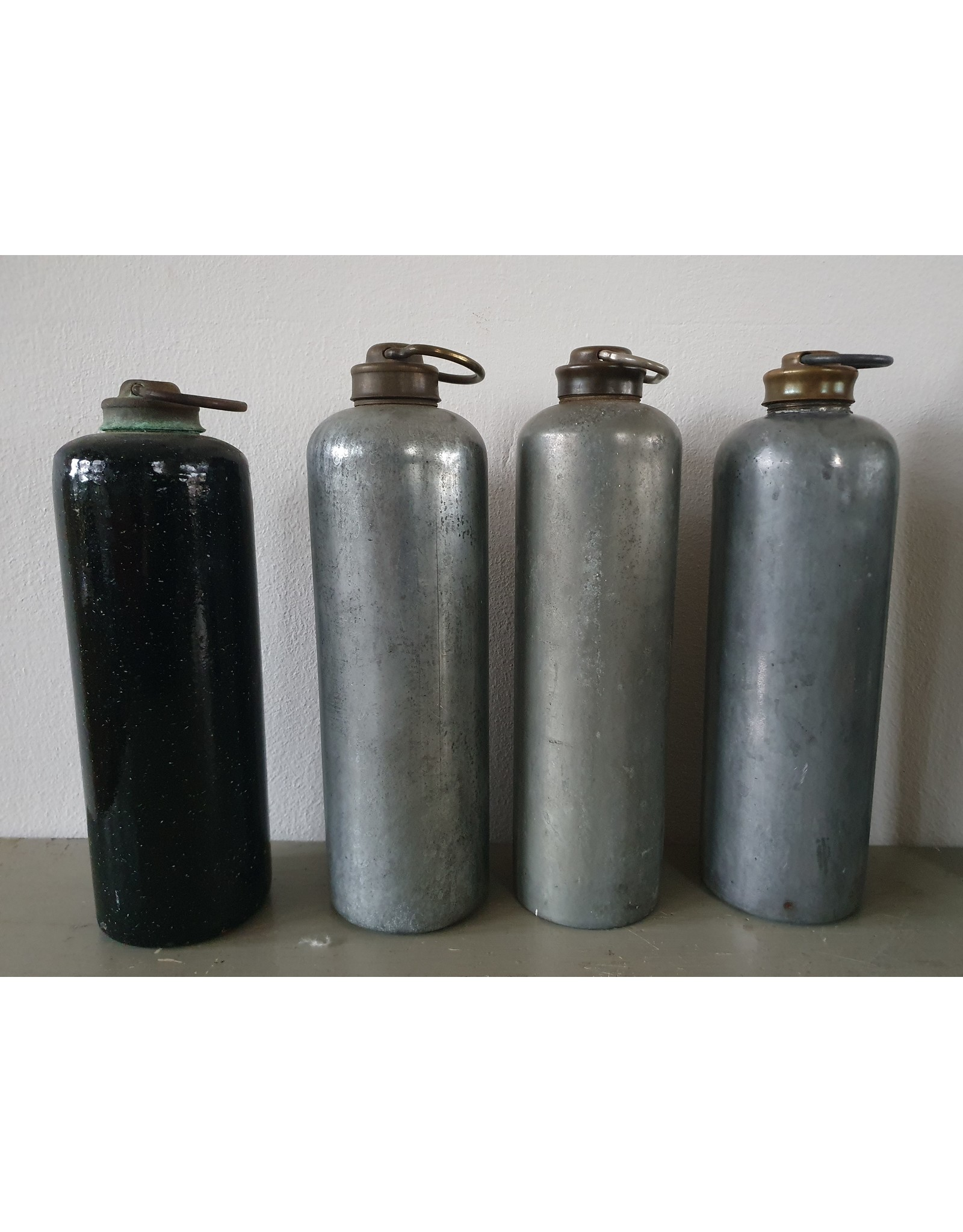 Vintage zinken waterkruik