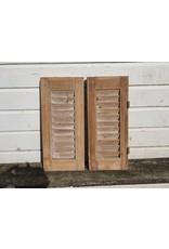 Franse houten luikjes