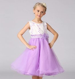 Meisjeskleding Feestjurk Mila - lavendel