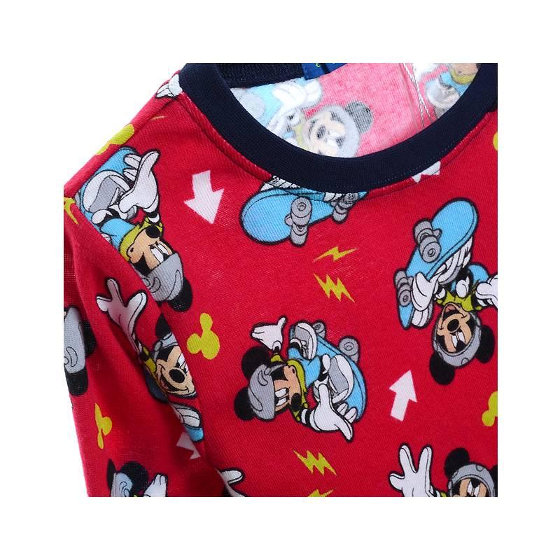 Jongenspyjama's Mickey Mouse Jongens Pyjama - rood