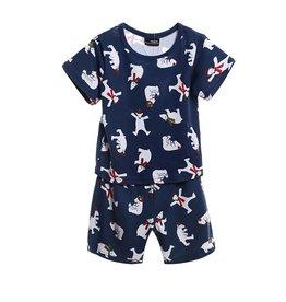 Jongenspyjama's Kleine IJsbeer Pyjama - blauw