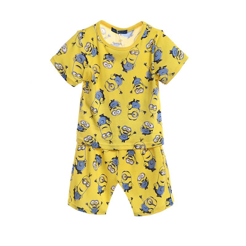 Jongenspyjama's Minions Jongens Pyjama - geel