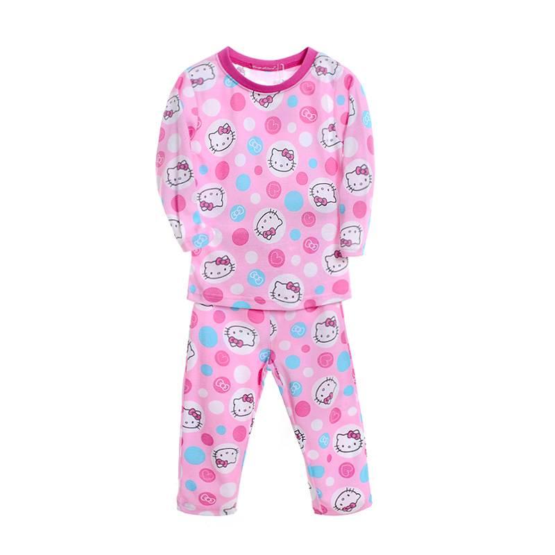 Meisjespyjama's Hello Kitty Meisjes Pyjama - roze
