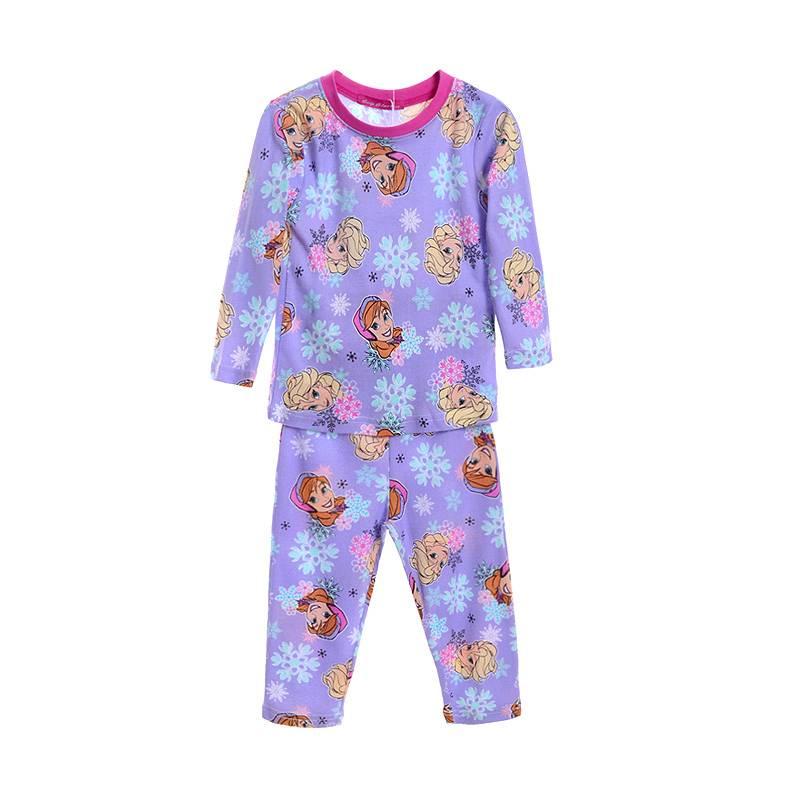 Meisjespyjama's Frozen Meisjes Pyjama - paars