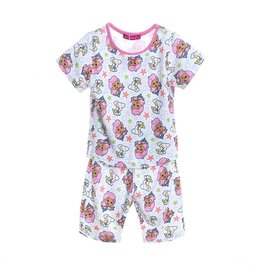 Meisjespyjama's Bubble Guppies Pyjama - wit / roze