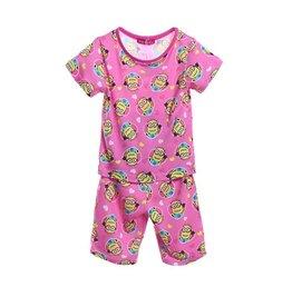 Meisjespyjama's Minions Pyjama - roze