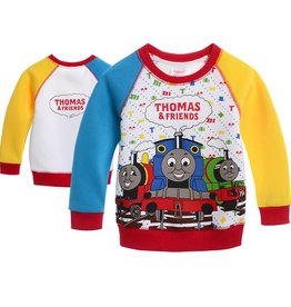 Jongenskleding Thomas en Vrienden Sweater - rood / geel / blauw