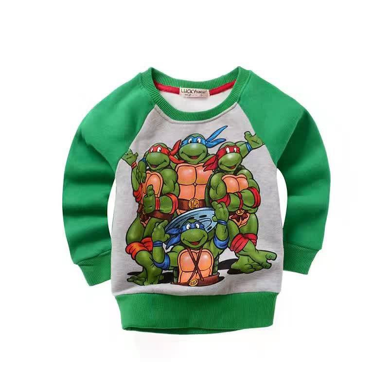 Jongenskleding Teenage Mutant Ninja Turtles Jongens Sweater - groen