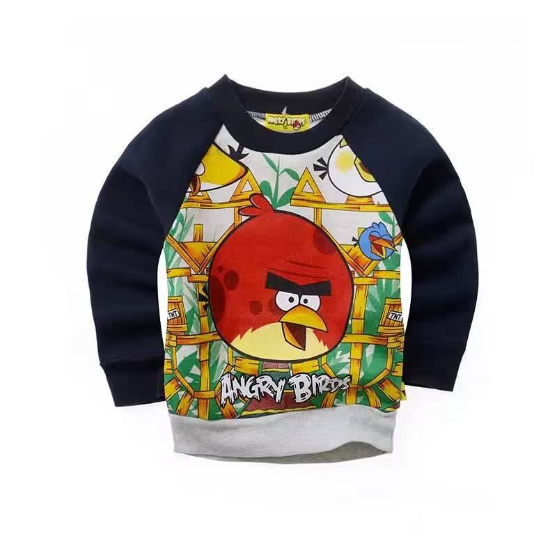 Jongenskleding Angry Birds Jongens Sweater - zwart