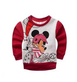 Jongenskleding Mickey Mouse Sweater 4 - rood