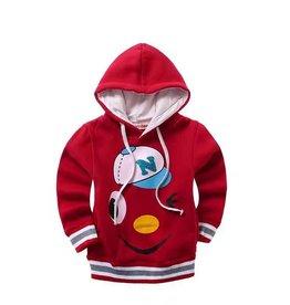 Jongenskleding Baseball Cap Sweater - rood