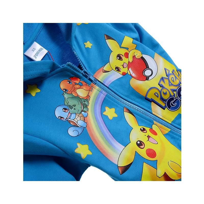 Jongenskleding Pokémon GO Jongens Sweatvest - blauw