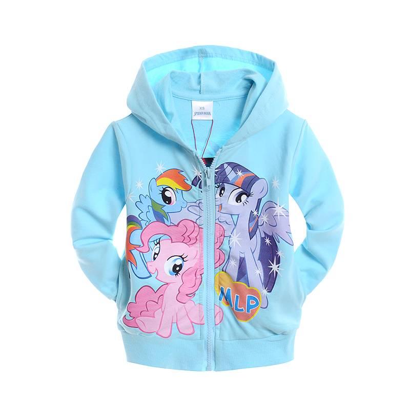 Meisjeskleding My Little Pony Meisjes Sweatvest - blauw