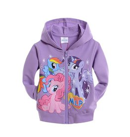 Meisjeskleding My Little Pony Sweatvest - paars