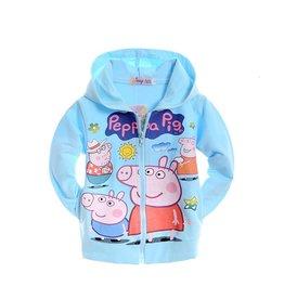 Meisjeskleding Peppa Pig Sweatvest - blauw