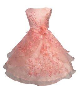 Meisjeskleding Feestjurk Esmeralda - lichtroze