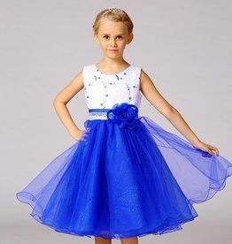 Meisjeskleding Feestjurk Mila - blauw