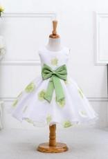 Meisjeskleding Meisjes Feestjurk Sofia - groen