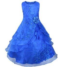 Meisjeskleding Feestjurk Esmeralda - blauw