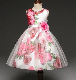 Meisjeskleding Feestjurk Rosanne - roze