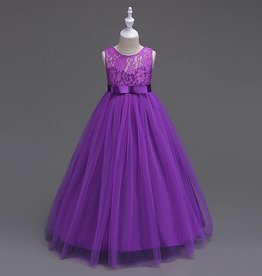 Meisjeskleding Feestjurk Victoria - paars