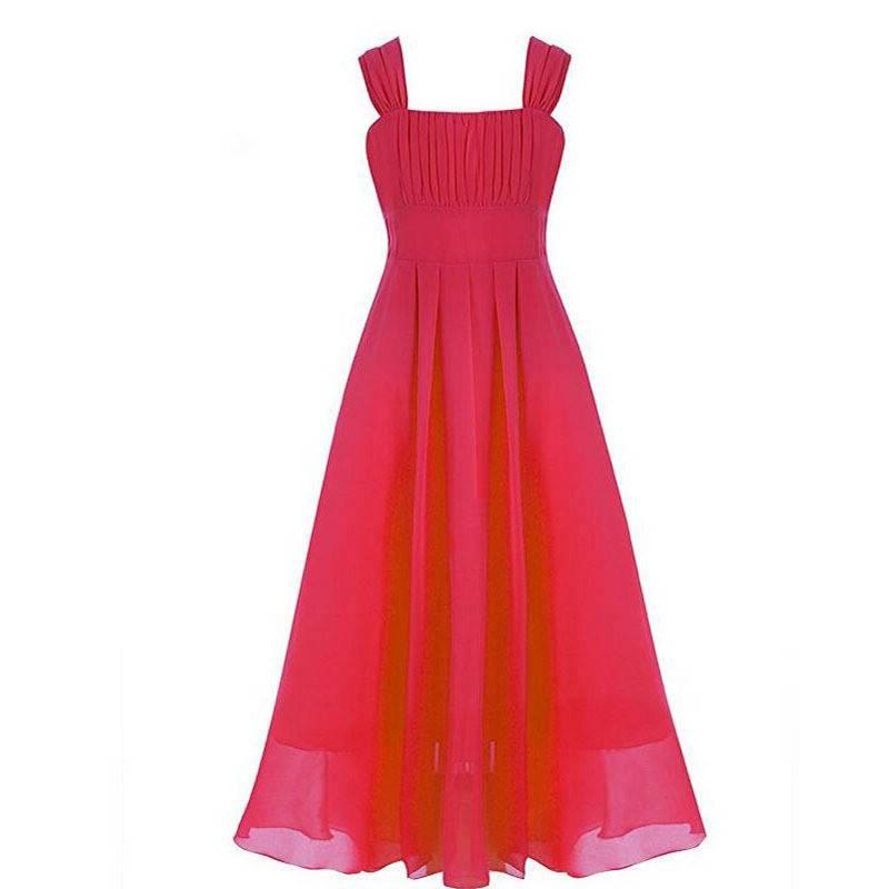 Meisjeskleding Meisjes Feestjurk Lilly - rood
