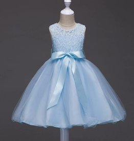 Meisjeskleding Feestjurk Romy - blauw