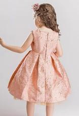 Meisjeskleding Meisjes Feestjurk Amber - roze