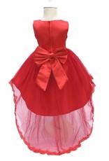 Meisjeskleding Meisjes Feestjurk Alina - rood