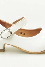 Meisjesschoenen Meisjesschoen - Spaanse schoentjes - lak - wit