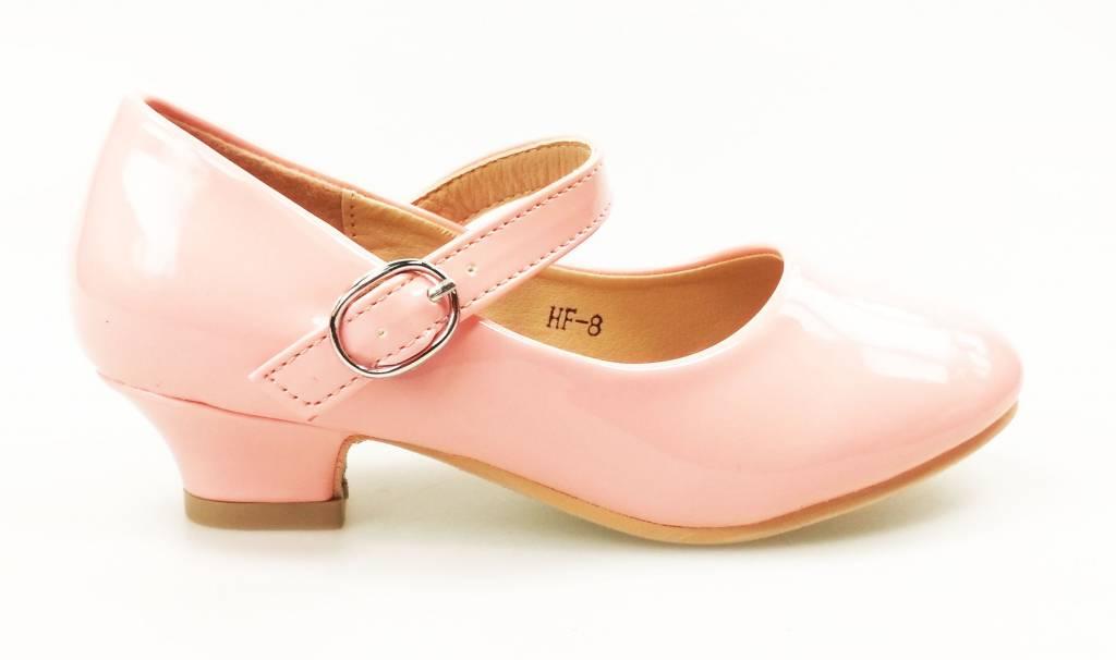 Meisjesschoenen Meisjesschoen - Spaanse schoentjes - lak - roze