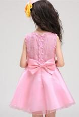 Meisjeskleding Meisjes Feestjurk Renee - roze