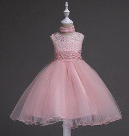Meisjeskleding Feestjurk Jill - roze